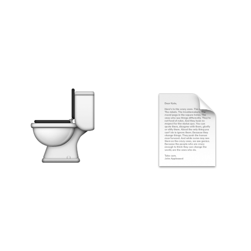 Emoji Quiz 3 answer: TOILET PAPER