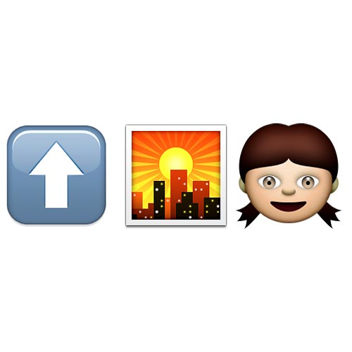 Emoji Quiz 3 answer: UPTOWN GIRL