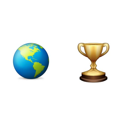 Emoji Quiz 3 answer: WORLD CHAMPION