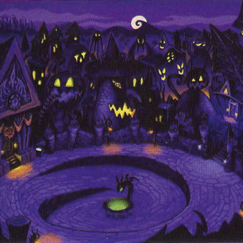 Fantasy Lands answer: HALLOWEEN TOWN