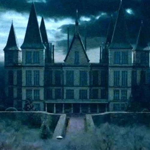 Fantasy Lands answer: MALFOY MANOR