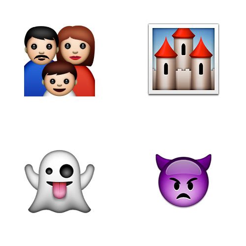 Halloween Emoji answer: ADDAMS FAMILY