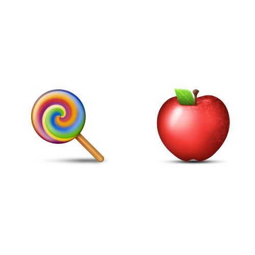 Halloween Emoji answer: CANDY APPLE