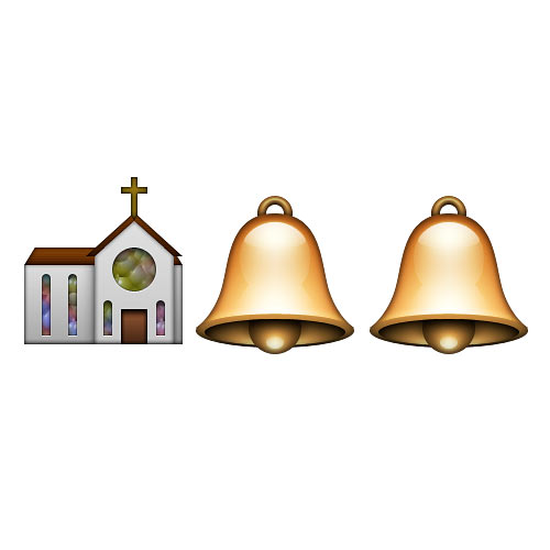 Halloween Emoji answer: CHURCH BELLS