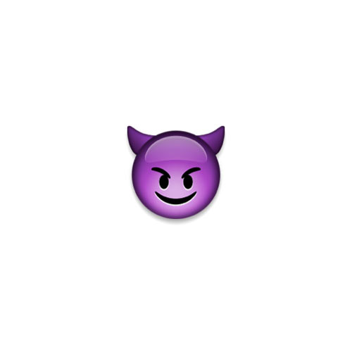 Halloween Emoji answer: DEVIL