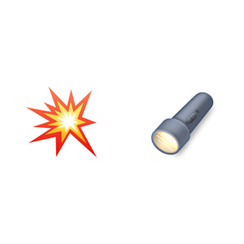 Halloween Emoji answer: FLASHLIGHT