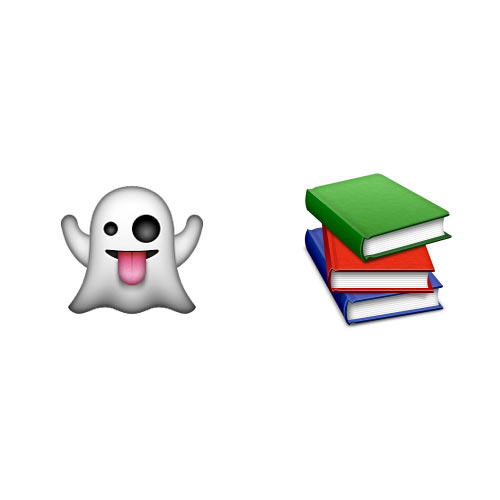 Halloween Emoji answer: GHOST STORY