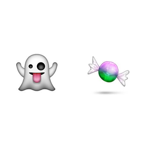 Halloween Emoji answer: TRICK OR TREAT