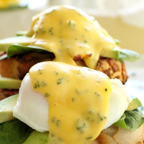 H is for... answer: HOLLANDAISE