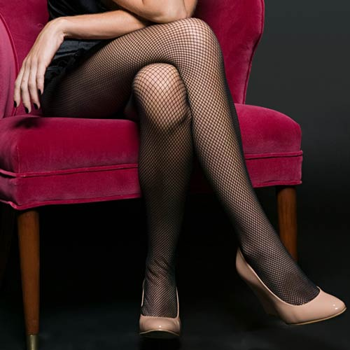 H is for... answer: HOSIERY
