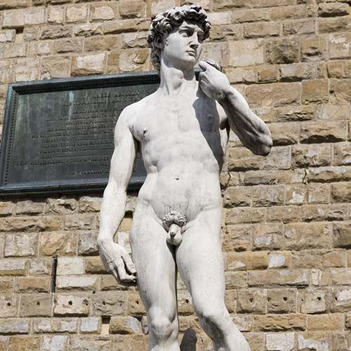 I Love Italy answer: DAVIDSTATUE