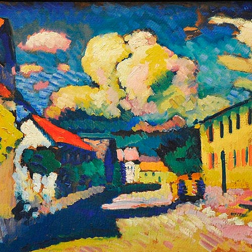 K is for... answer: KANDINSKY