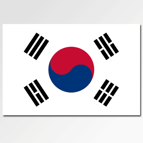 K is for... answer: KOREA