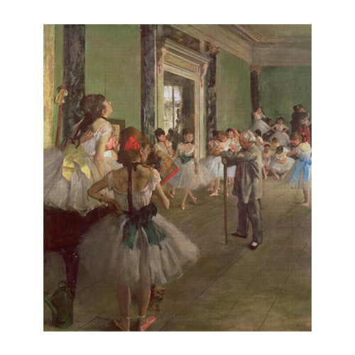 Kunstklassiker answer: DEGAS