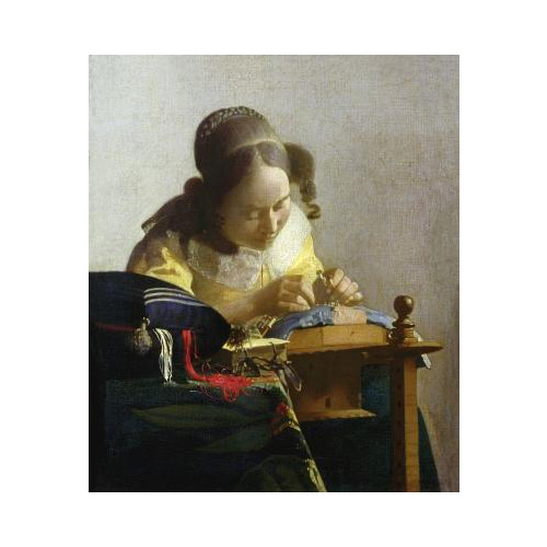 Kunstklassiker answer: THE LACEMAKER