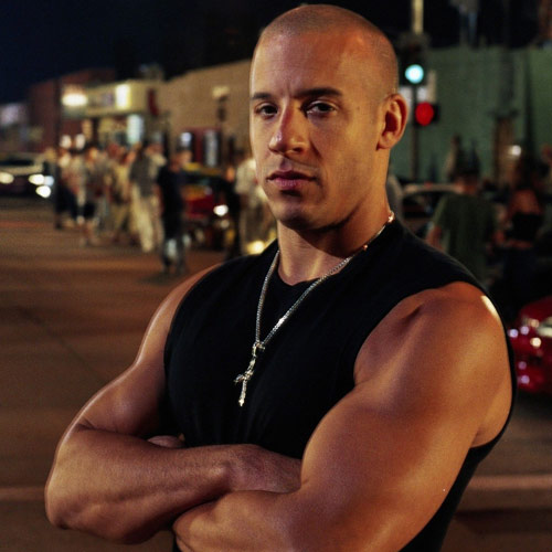 Movie Heroes answer: DOM TORETTO