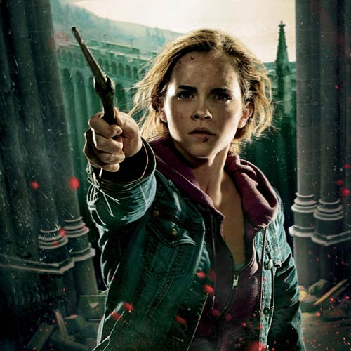 Movie Heroes answer: HERMIONE