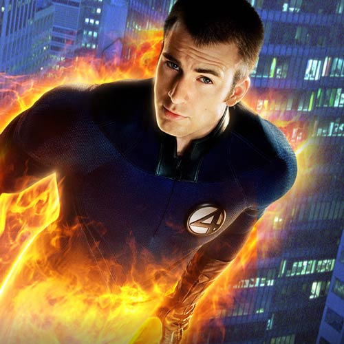 Movie Heroes answer: THE HUMAN TORCH