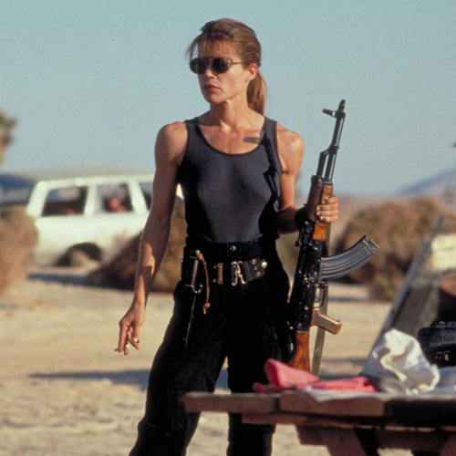 Movie Heroes answer: SARAH CONNOR
