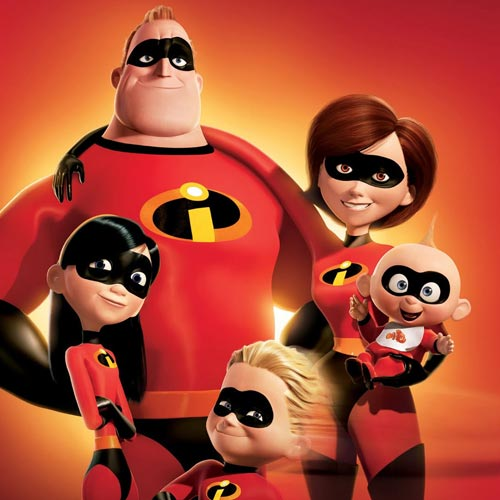 Movie Heroes answer: THE INCREDIBLES