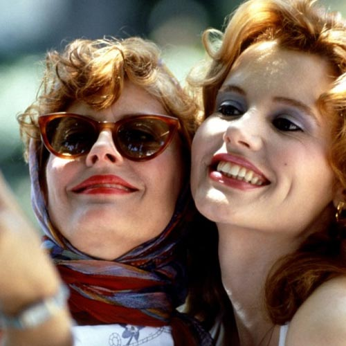Movie Heroes answer: THELMA & LOUISE