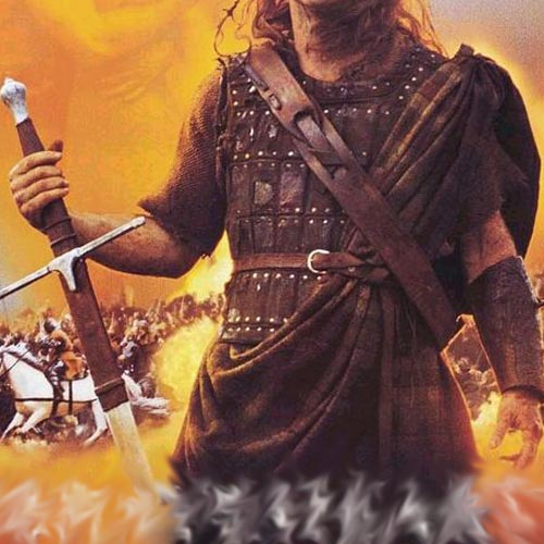 Movie Logos 2 answer: BRAVEHEART