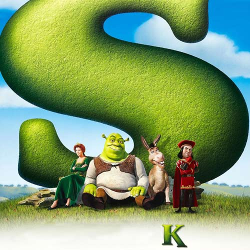 Movie Logos 2 answer: SHREK