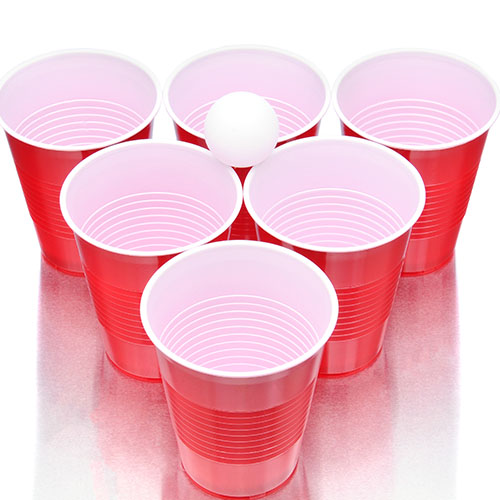 Party answer: BEER PONG