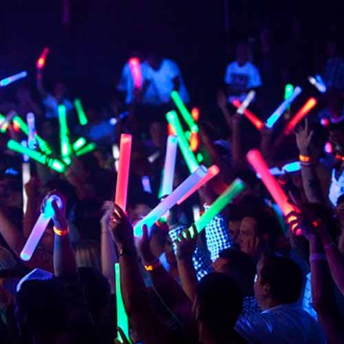 Party answer: GLOW STICKS