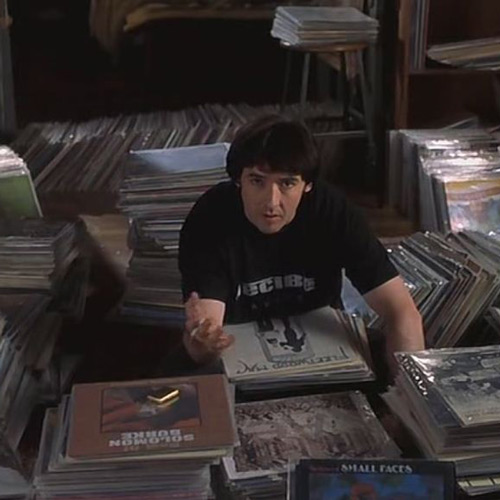 Rom-Coms answer: HIGH FIDELITY