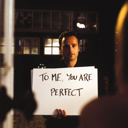 Rom-Coms answer: LOVE ACTUALLY