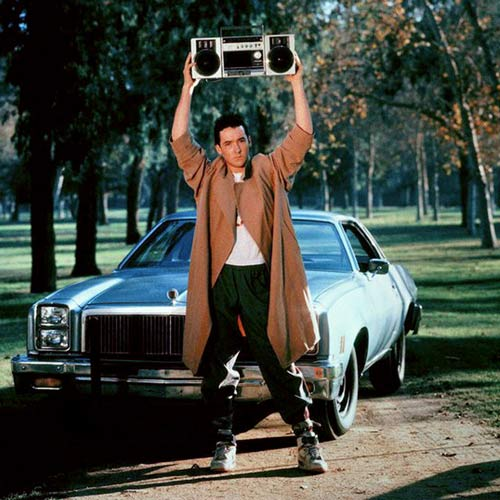 Rom-Coms answer: SAY ANYTHING