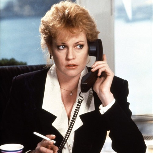 Rom-Coms answer: WORKING GIRL