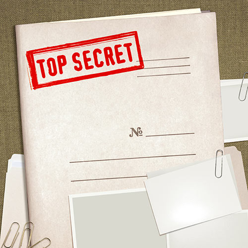 Secret Agent answer: CLASSIFIED