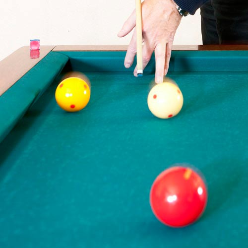 Spiele answer: BILLIARD