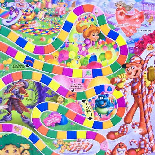 Spiele answer: CANDY LAND
