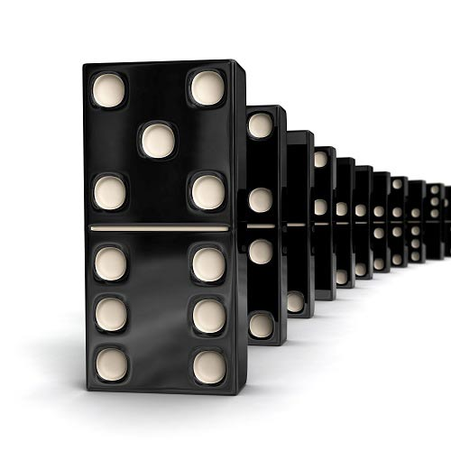 Spiele answer: DOMINO