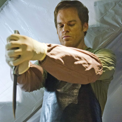 TV Shows answer: DEXTER