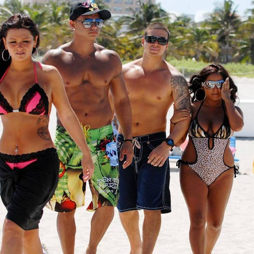 TV Shows answer: JERSEY SHORE