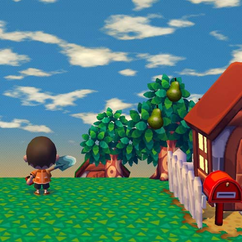 Videospiele answer: ANIMAL CROSSING