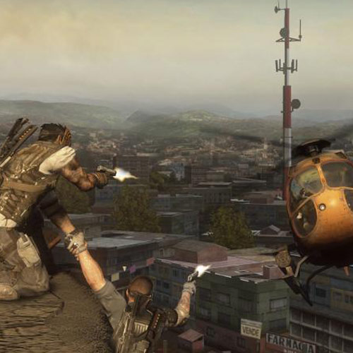 Videospiele answer: ARMY OF TWO