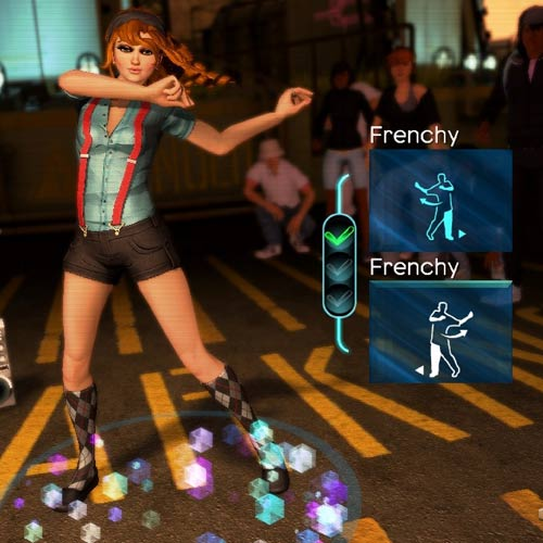 Videospiele answer: DANCE CENTRAL