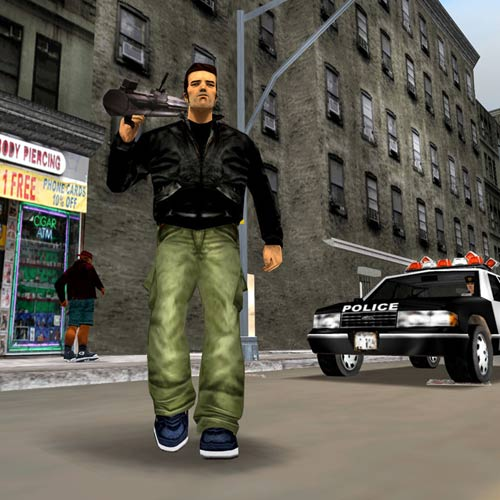 Videospiele answer: GRAND THEFT AUTO