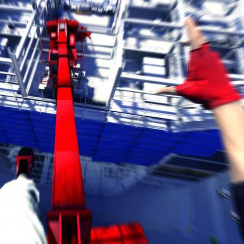 Videospiele answer: MIRRORS EDGE
