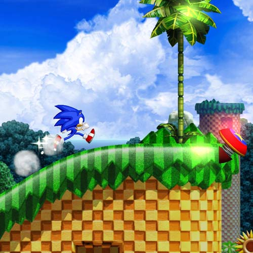 Videospiele answer: SONIC
