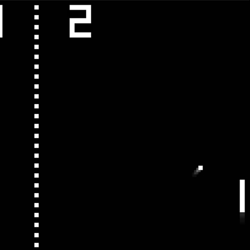 Videospiele answer: PONG