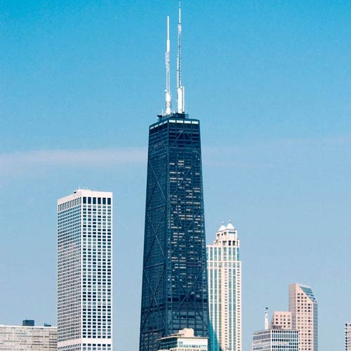 Wahrzeichen answer: WILLIS TOWER