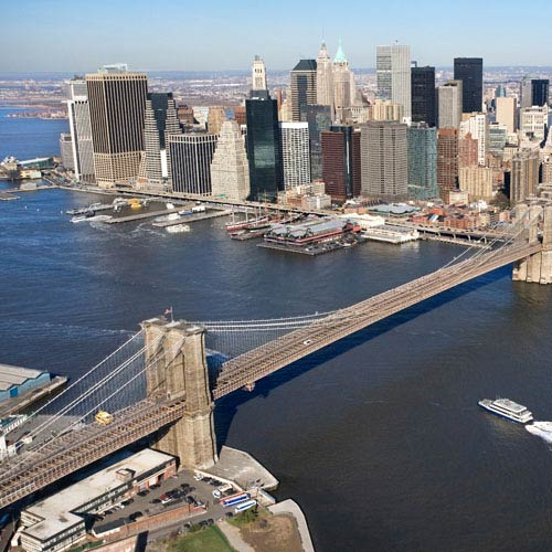 Wahrzeichen answer: BROOKLYN BRIDGE