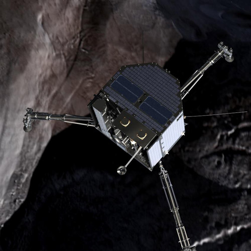 Weltall answer: PHILAE