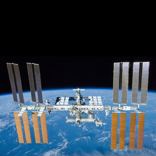 Weltall answer: ISS